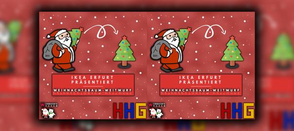 IKEA Weihnachtsbaum Weitwurf - Homepage