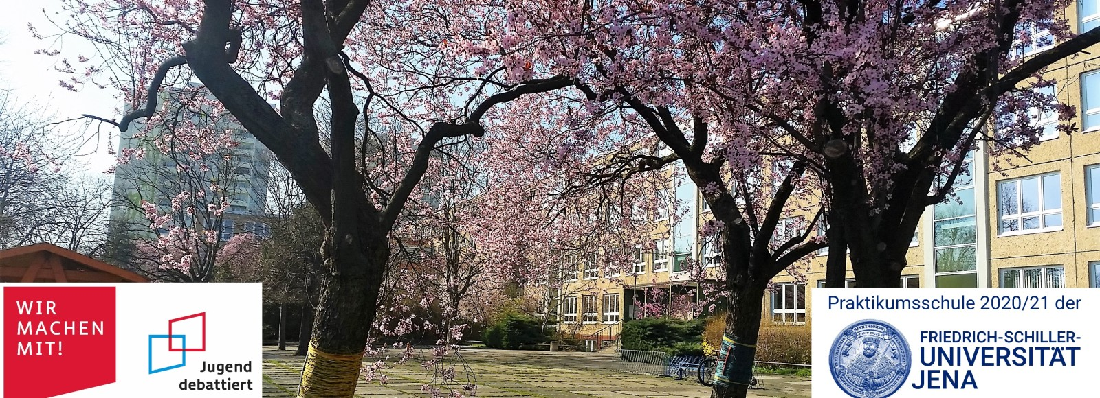 Schule im Frühling 2021
