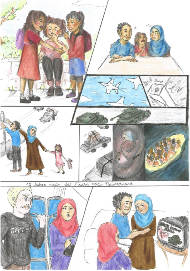 Comicreihe Teil 3