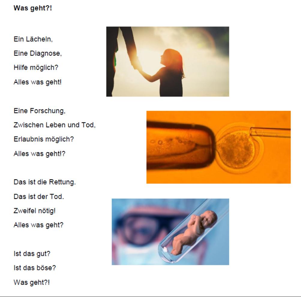 Florian Fritzsch Gedicht zum Thema Der Mensch zwischen gut und böse
