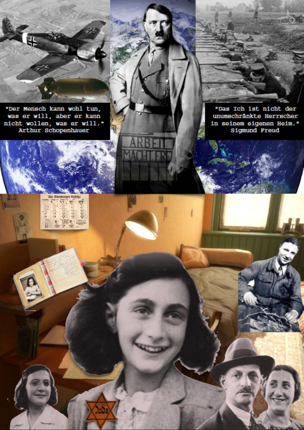 Jarla Kühnemund Collage zum Thema Freiheit und Determination